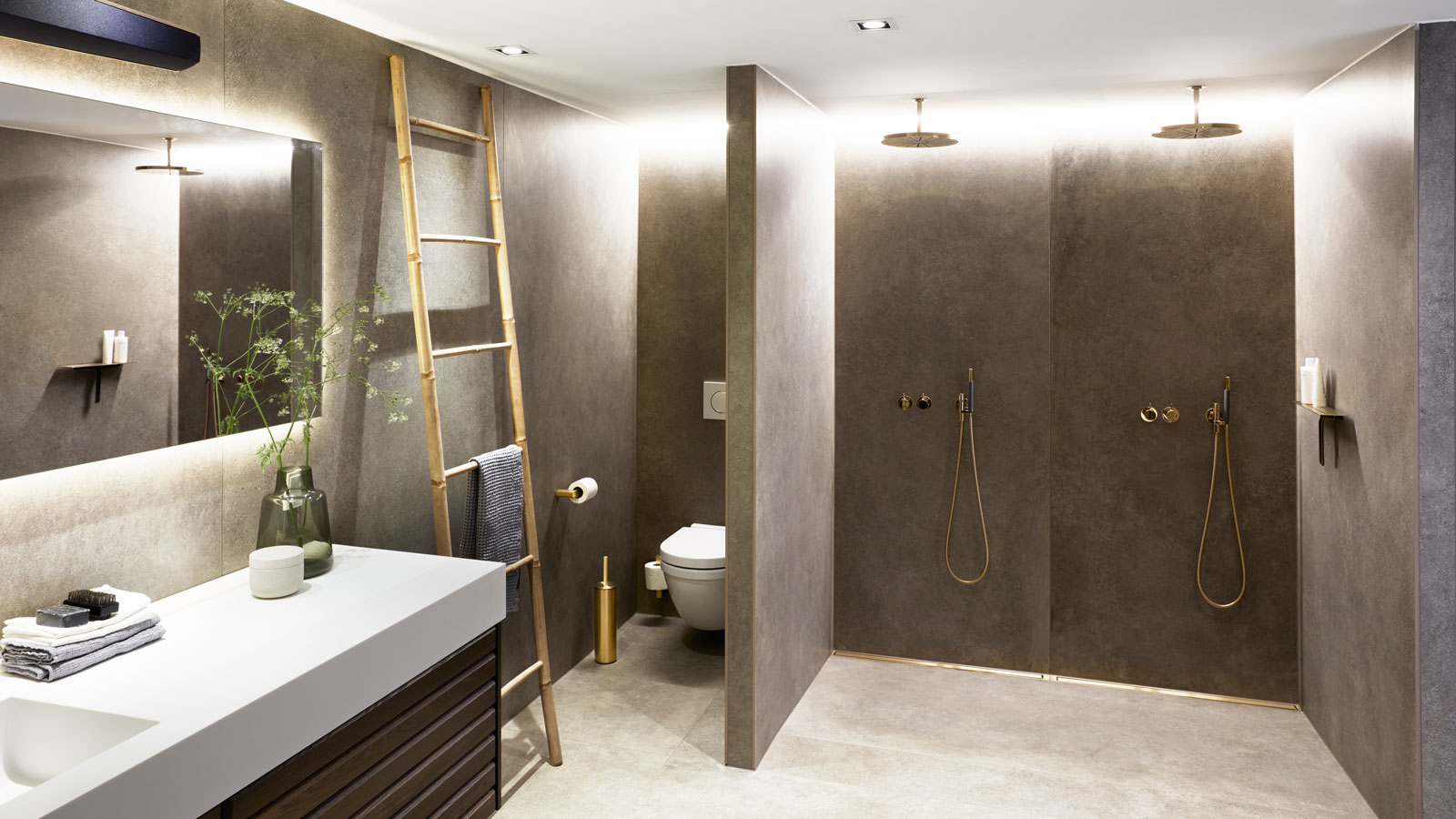 Picture of: From Crawl Space To Luxurious And Functional Bathroom
