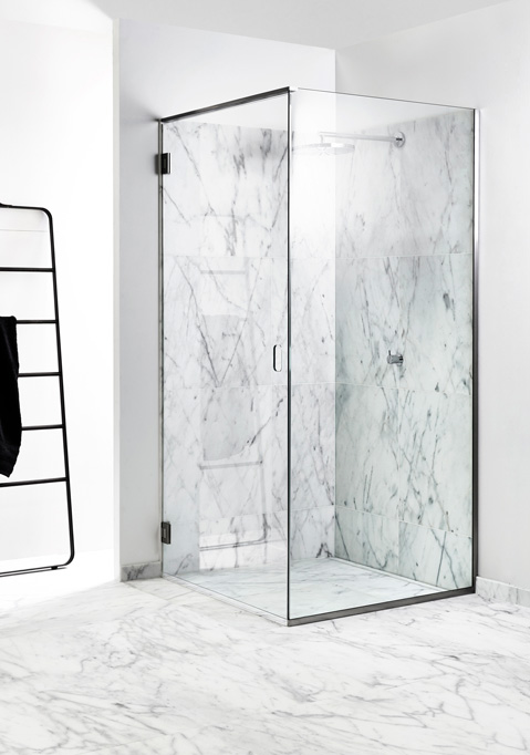Shower screens in glass and functional shower doors - slide 12